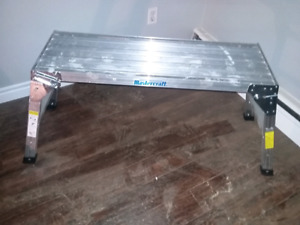 Mastercraft 3ft Work Bench/ Stand