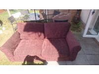 Free!!! 2 + 3 seater sofa