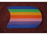colourful rainbow swimming aid float