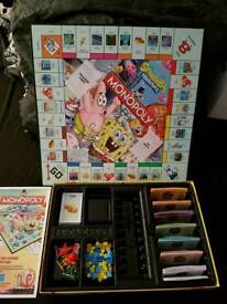 Spongebob monopoly board game