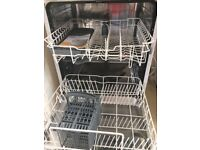 FULLSIZE Dishwasher BUSH DWFS126W. 18 months old. Excellent condition and working order