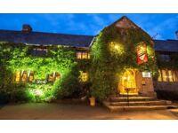 Oxenham Arms Hotel Sous Chef / Senior Sous Chef