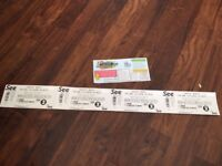 2 Adult Weekend Camping Tickets CarFest North 2017