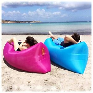 Outdoor inflatable bed