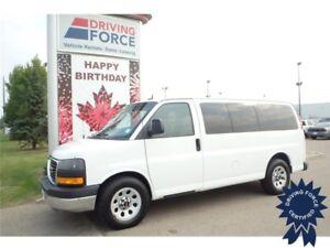 2014 GMC Savana 1500 LS 8 Passenger All Wheel Drive - 73,316 KMs