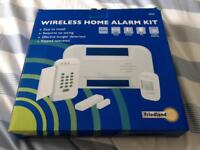 Friedland wireless home alarm kit never used