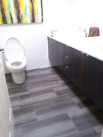 Tile & Stone installations. Great rates, beautiful installations