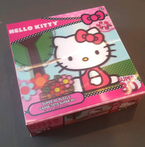 Hello Kitty 3-D Puzzle (150 pieces)