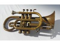 The 'Empire' Cornet Hawkes & Son, Denman Street - Vintage Collectable Brass