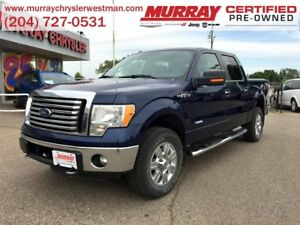 2012 Ford F-150 SuperCrew XLT XTR 4WD 3.5L *Backup Camera*