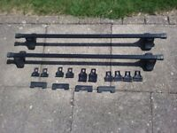 Thule roof rack bars
