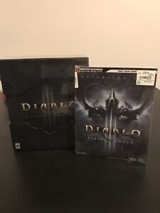Diablo Reaper of souls collectors edition with guide book