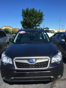 2014 Subaru Forester 2.5i Touring Package Touring Trim manual