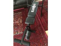 Klarfit leg machine with weights