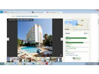 Ibiza Flights and Hotel stay for sale