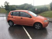 Chevrolet kalos, 2006/56, only 55,000 miles, long mot, £595