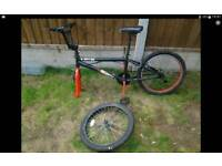 Bmx bike needs doing up shed find