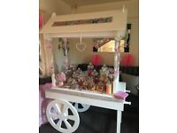 Candy cart and post box for hire