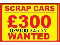 079100 345 22 SELL MY CAR VAN MOTORCYCLES FOR CASH BUY YOUR SCRAP FAST SCRAP Post