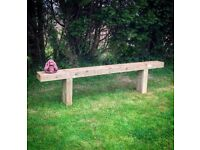 Xl garden bench