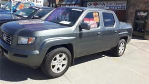 2008 HONDA RIDGELINE- LOADED! LEATHER, POWER ROOF- AS IS SPECIAL