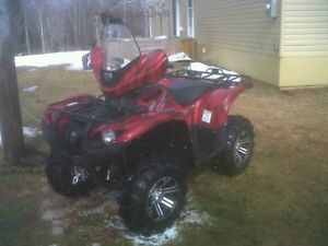 Limited edition Yamaha Grizzly
