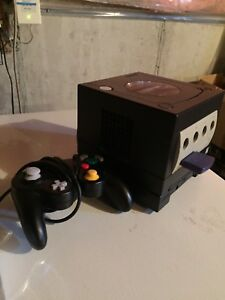 GameCube with controller and 4mb memory card