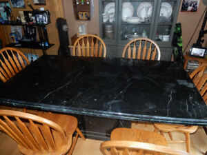 SOLID MARBLE DINING / LIVING ROOM TABLE