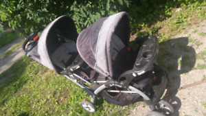 BabyTrend Sit n' Stand double stroller