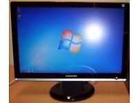 "Samsung Syncmaster 22"" Widescreen Computer monitor"