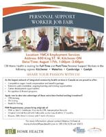 PSW Job Fair - Full-Time/Part-Time Positions!