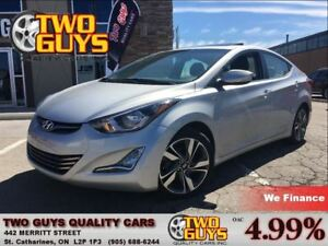 2014 Hyundai Elantra Limited Tech NAVIGATION SUN ROOF