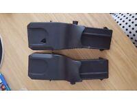Silver Cross Wayfarer / Pioneer Maxi Cosi Cabriofix / Pebble Car Seat Adapters