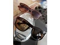 2 RayBan Sun Glasses