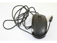 HP Black USB Mouse 697738-001