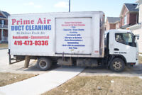 PRIME AIR DUCT CLEANING INC. PLS. CALL 416-473-0336