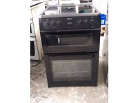 6 MONTHS WARRANTY Beko AA energy rated, double oven electric cooker FREE DELIVERY