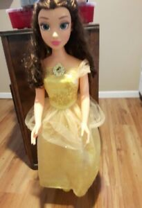 BELLE BEAUTY and the BEAST  fairy tale friend doll 3ft