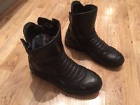 Frank Thomas Motorcycle boots size 9 EU 43 CHEAP SHOES