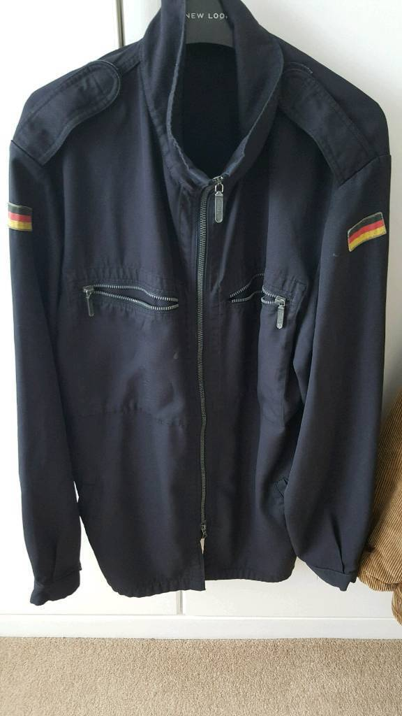 Men's german army jacket size large