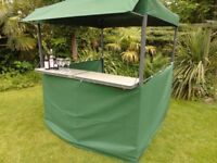PRICE REDUCED FOR QUICK SALE - NEW Outdoor Garden Gazebo / Marquee / Wedding Tent - Heavy Duty Bar