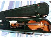 Stentor Violin inc. 2 x Rosins and shoulder rest