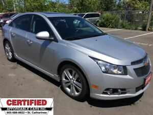 2012 Chevrolet Cruze LT RS TURBO **SUNROOF, BLUETOOTH, CRUISE**
