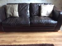 3 Seater Italian leather sofa (Free !person needs to collect )