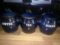Ceramic jars.
