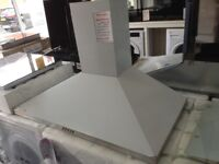 90cm stainless steel cooker hood small dint. 12 month Gtee