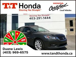 2014 Honda Accord **C/S** Touring V6*1 Owner, Local Car, Navi*