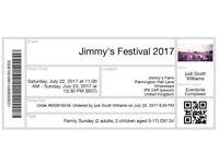 Jimmy's Farm Festival Sunday Family Ticket