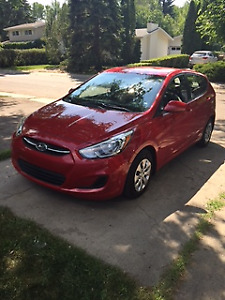 2016 Hyundai Accent GL Hatchback Pristine Condition