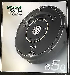 Brand New Sealed iRobot Vacuum Cleaning Robot - Roomba 650